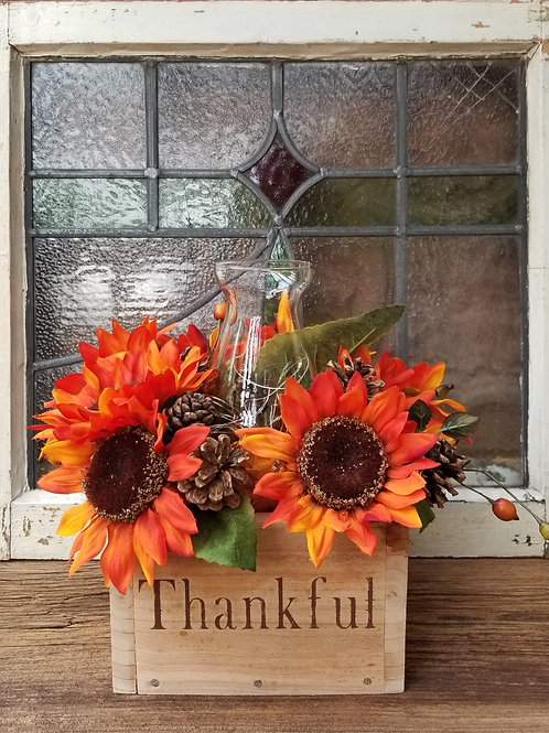 Thankful Fall Centerpiece (shown in Small)