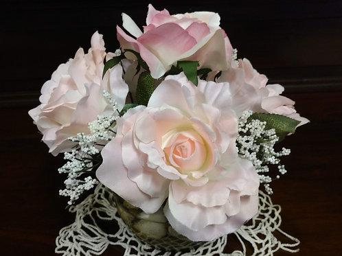 Soft Pink Rose Arrangement