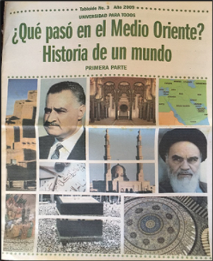 "Figure 1. Tabloid ""What happened in the Middle East?  History of a world"""