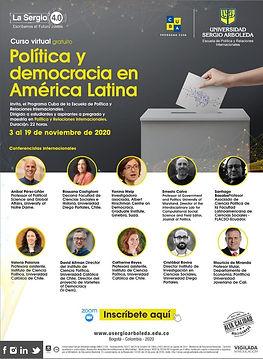 La Política y Democracia en América Lati