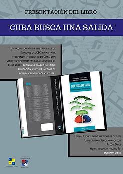 """Presentación del libro: """"Cuba busca una salida"""""""