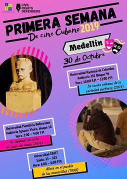 Primera Semana de Cine Cubano