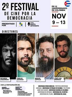 segundo festival de cine por la democrac