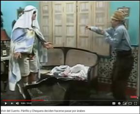 """Figure 4. Vivir del cuento, Episode """"El Árabe"""""""