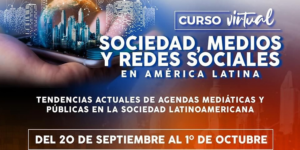 """Curso virtual """"Sociedad, medios y redes sociales en América Latina"""""""