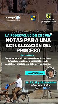 La posrevolución en Cuba :Notas para act