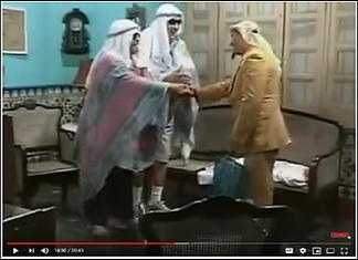 """Figure 3. Vivir del cuento, Episode """"El Árabe"""""""