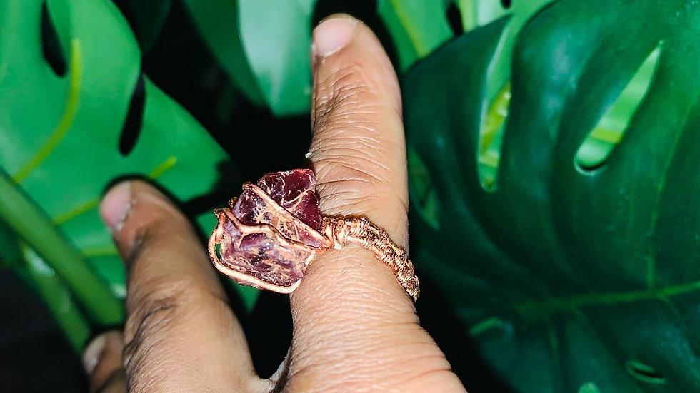 Garnet(January) Ring