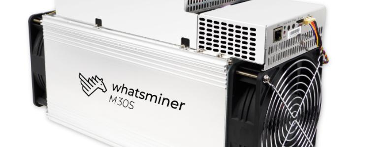 WhatsMiner M30S 112 Th/s