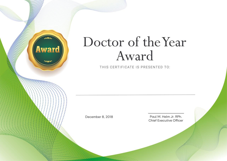 Serious Award Certificates