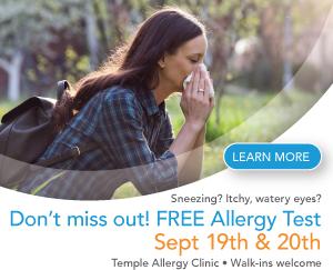 Temple Allergy