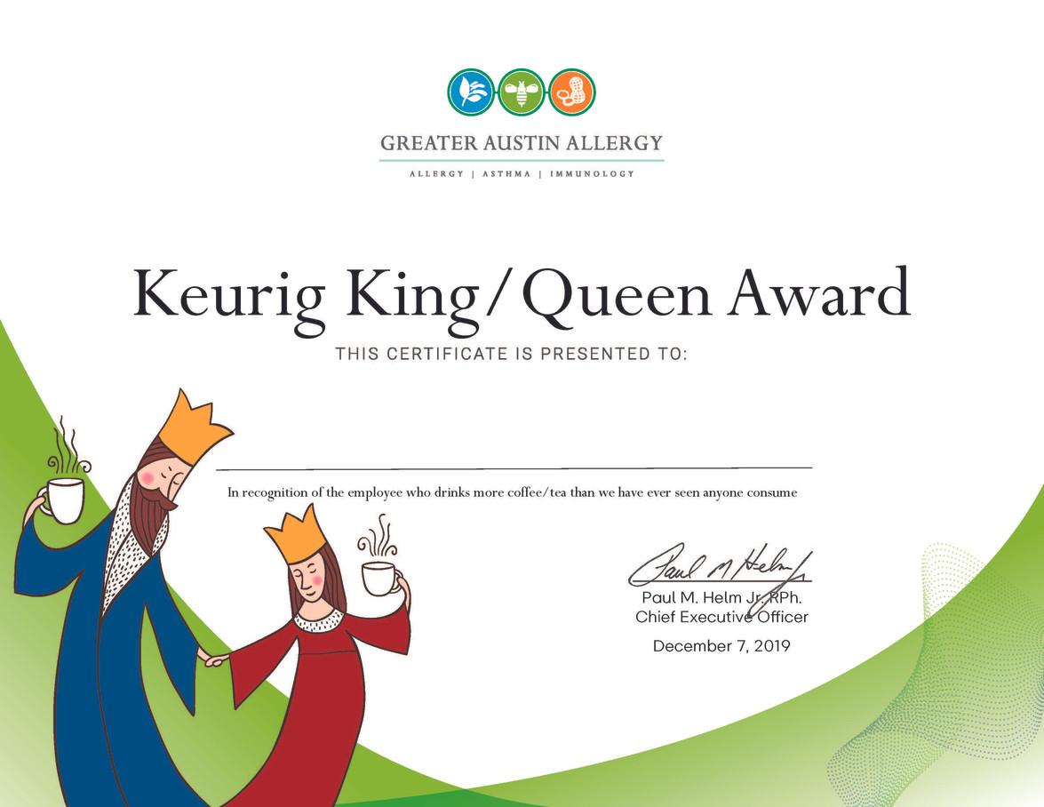 Fun Award Certificates