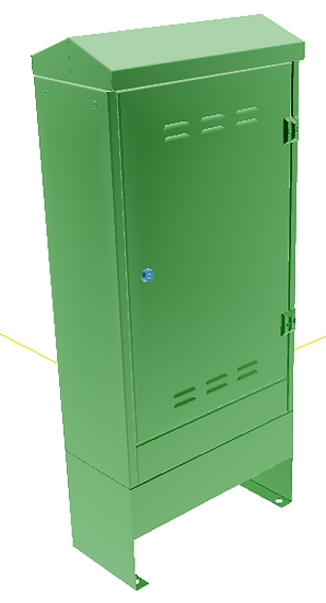 Slim Single door cabinet - SD1