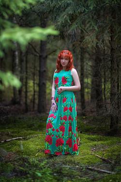Летняя фотосессия в лесу