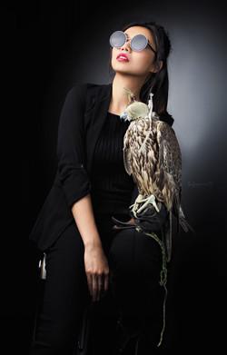 Фотосессия с птицами