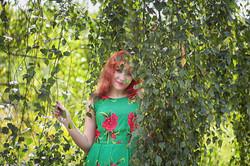 Фотосессия в саду