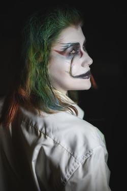 Фотосъемка в гриме на Хэллоуин