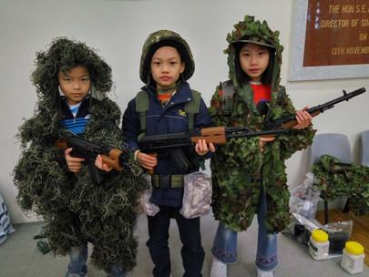 【聖誕軍訓2020】香港4天軍訓營 - A團 (12月25至28日)