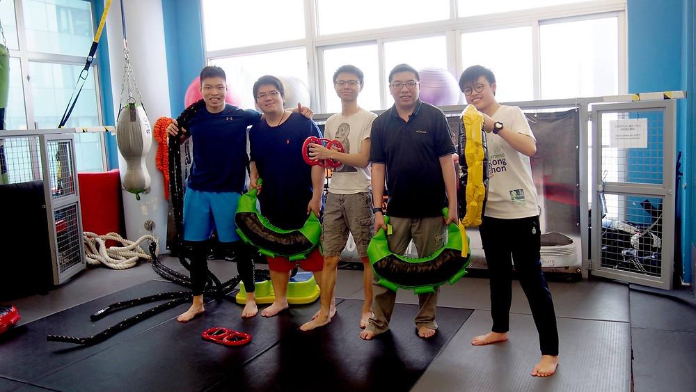 勵志教育青年基金 InspireHK參與香港復康力量傷健共融日籌款活動獲頒感謝狀