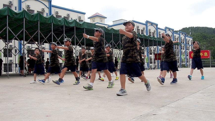 青少年軍訓體驗營 - InspireHK