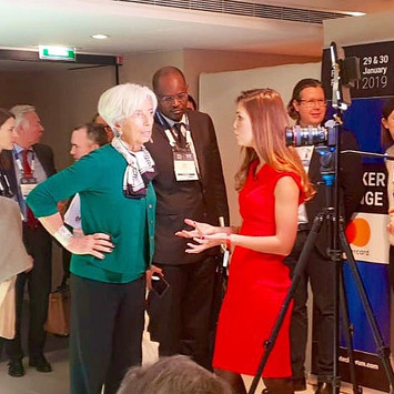 Christine Lagarde Commisioned Interview