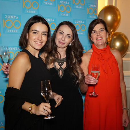 Celebrating 100 Years of Zonta International in London!