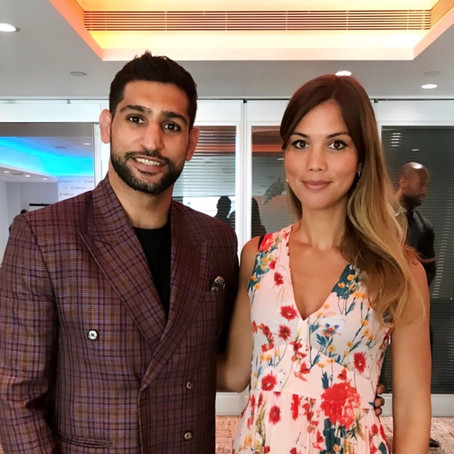 We Meet Boxer & Philantropist Amir Khan!