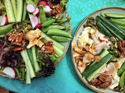 veggies and nuts