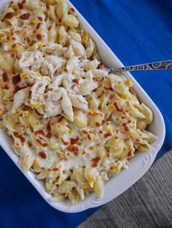 korean corn cheese mac