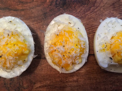 mac deviled eggs 1
