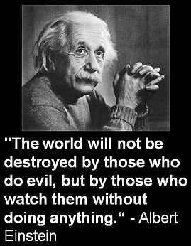 Albert Einstein - Watch Without Doing An