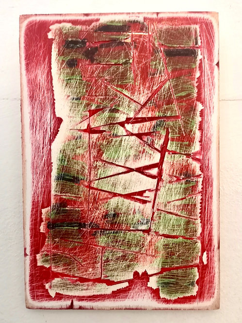 Deconstruction in Green on Red II