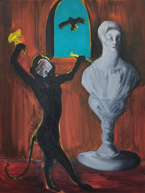An Allegory of Existence (The Sculptor)