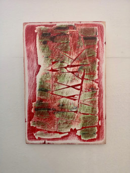 Deconstruction in Red on Green II