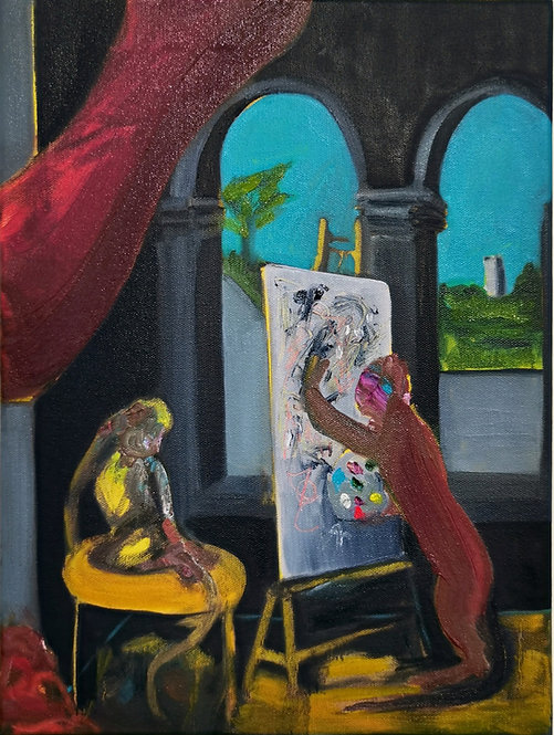An Allegory of Existence (The Painter)