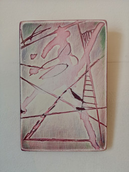 Deconstruction in Pink and Green III