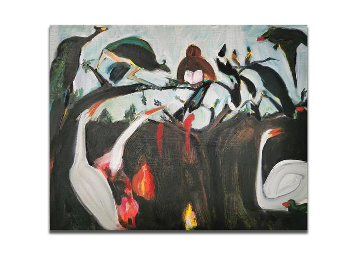 Concert of Birds (after Franz Snyders)