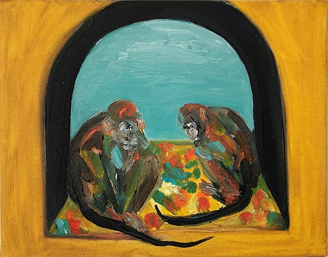 A Study of Two Monkeys