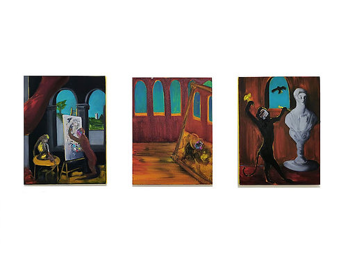 An Allegory of Existence (triptych)