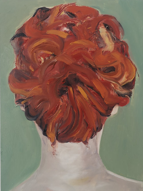Self Portrait as a Redhead