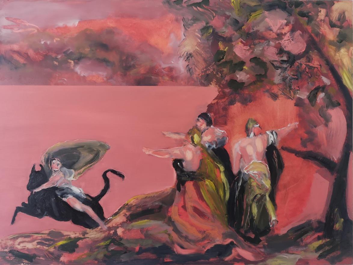 The Rape of Europa (after Goya)