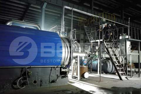 Pyrolysis Plant To Recycle Used Tires