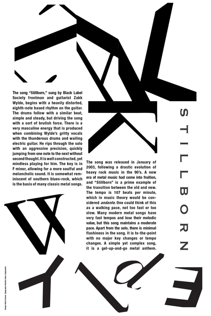 Typographic Band