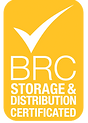 BRC Storage and Distribution Certified Logo