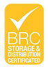 BRC Storage and Distribution Certified Logo