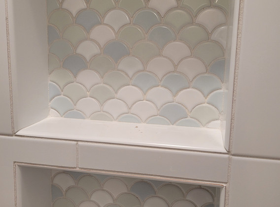 Cabinets and Tile