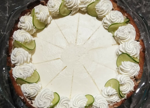 GF Low Carb Key Lime Cheesecake