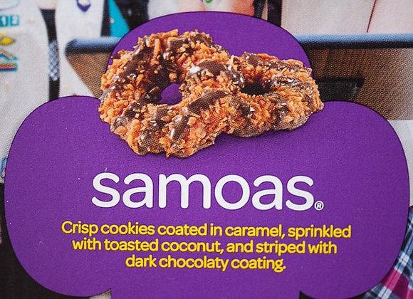 Samoas Girl Scout Cookies