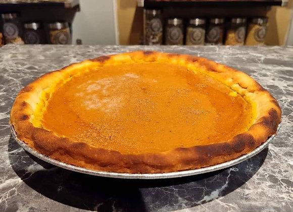GF Low Carb Pumpkin Pie