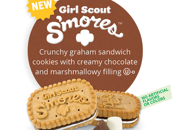 Girl Scout S'mores Girl Scout Cookies